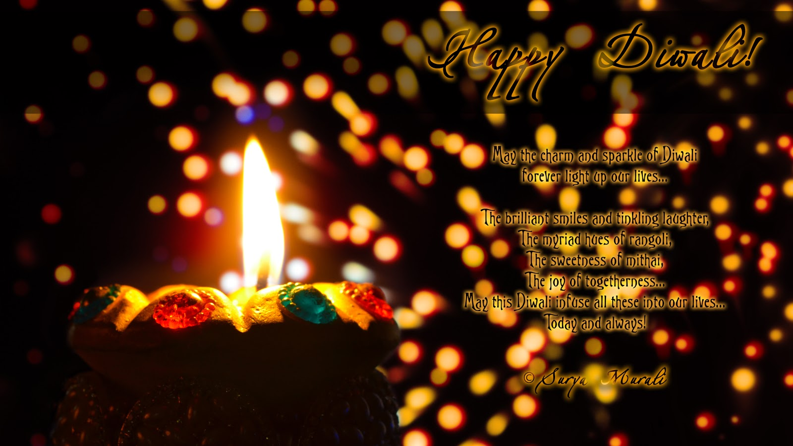 Happy Diwali Wishes Hindi Font
