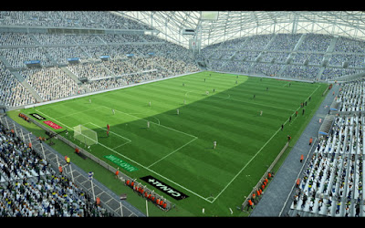 PES 2013 New Velodrome Arena For GDB by Sevak