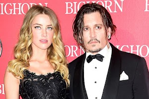 Johnny Depp talked about how he fell in love with amber heard