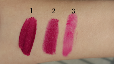 Berry lipstick swatches to try first time
