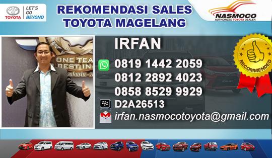 Rekomendasi Sales Toyota Tegal