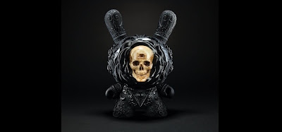 "The Death Blossom Clairvoyant 8"" Custom Dunny Series by J*RYU x Kidrobot"