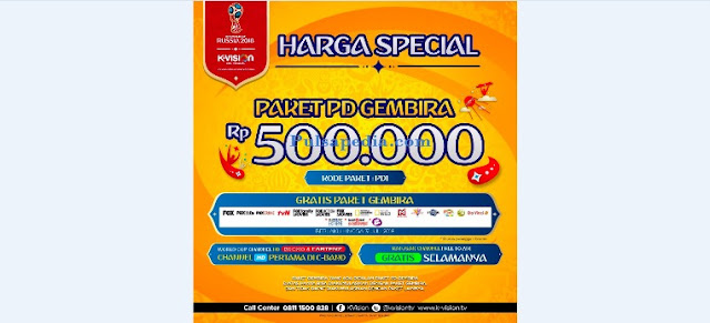 Paket Piala Dunia Gembira K Vision