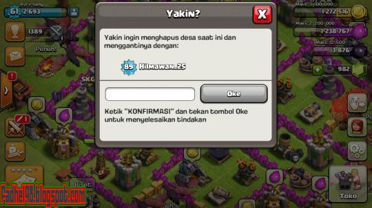 Cara Merubah Bahasa COC (Clash Of Clans) Menjadi Bahasa Indonesia7