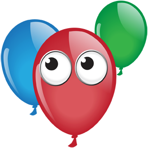 balloon image from the EyeSpy app for macOS Sierra