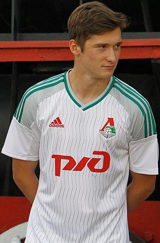 FCロコモティフ・モスクワ 2015-16 ユニフォーム