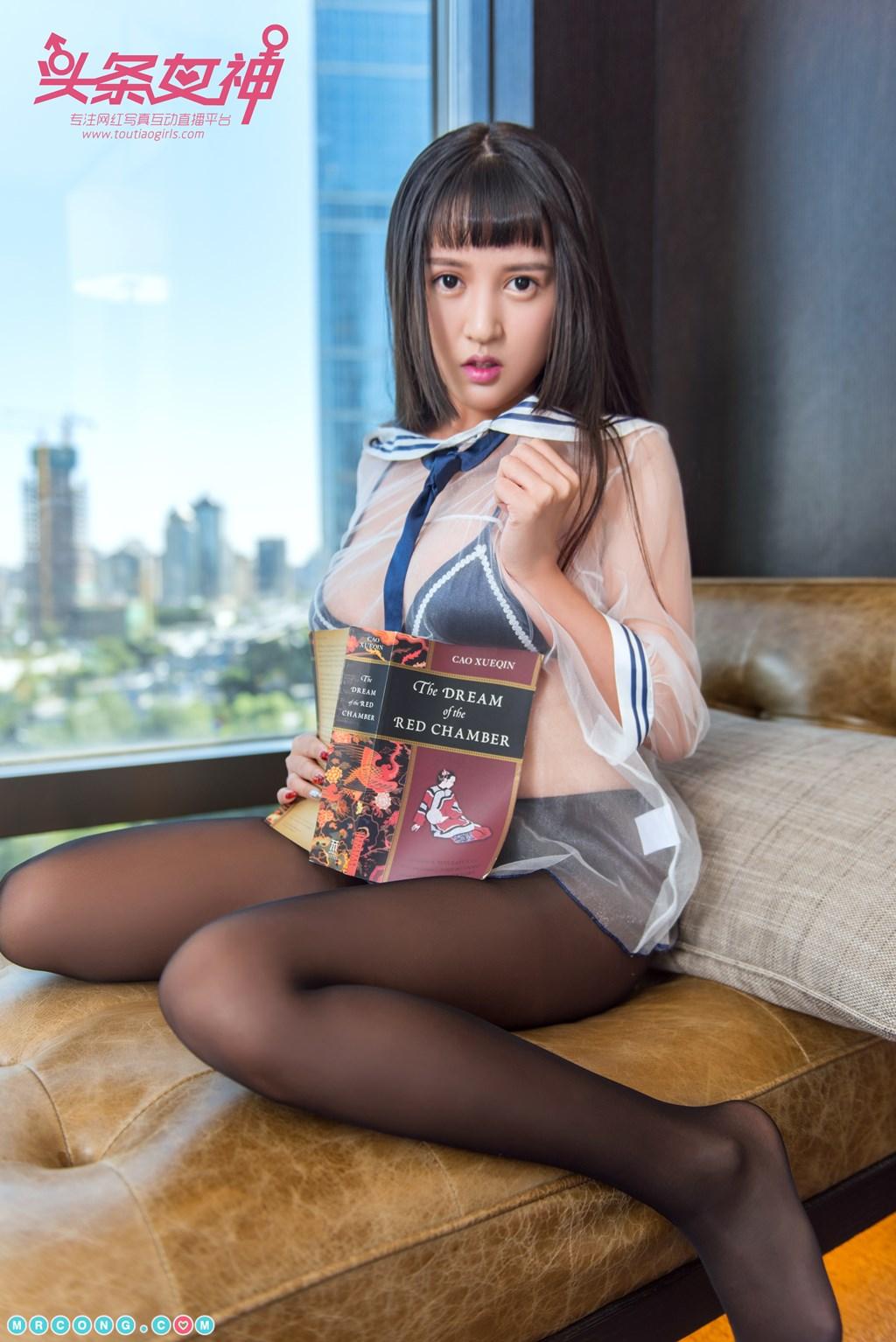 Image TouTiao-2017-12-12-Da-Han-MrCong.com-006 in post TouTiao 2017-12-12: Người mẫu Da Han (大晗) (27 ảnh)