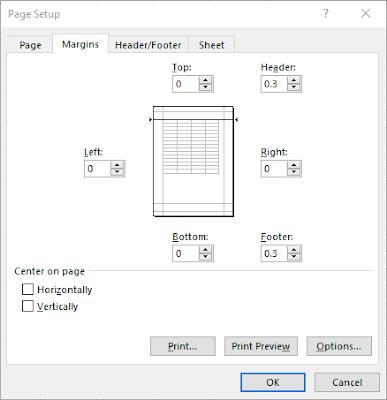 100% Work!!! Cara Print Di Excel Agar Tidak Terpotong Dan Besar Serta Rapi