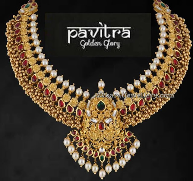 Exclusive Set by Satyanarayana Jewellers