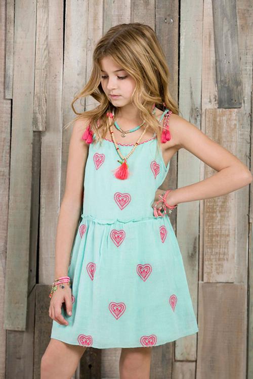 Vestidos primavera verano 2018 ropa de moda para nenas. Moda 2018 vestidos.