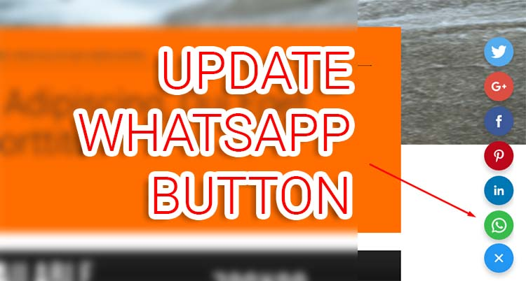 Update! Add WhatsApp Button On Amp-social-share Fixed Show Hide