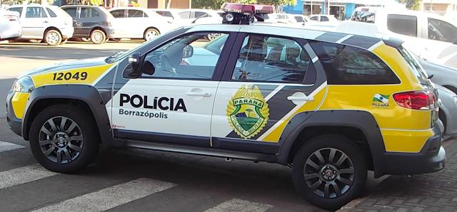 Broncas policias registradas pela PM em Borrazópolis