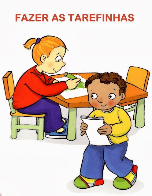 Combinados educação infantil plaquinhas