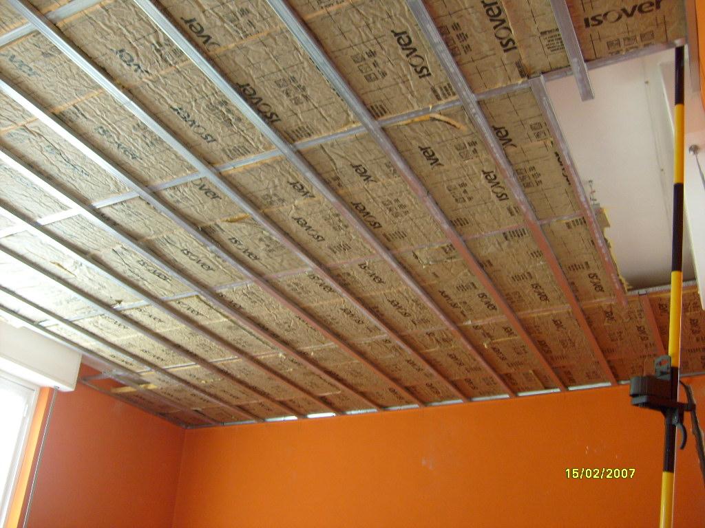 Decorazioni d autore: isolamento termico di soffitto e parete