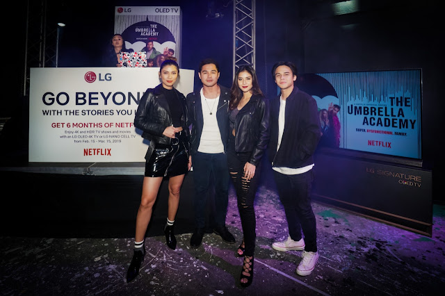 LG Ambassadors - Nicole Cordoves, Benjamin Alves, Sanya Lopez, Khalil Ramos