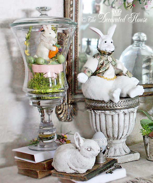 The Decorated House - Decorating for Easter Vintage & New