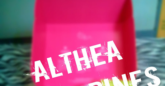 [Skin Care] ; ALTHEA Philippines Beauty Box