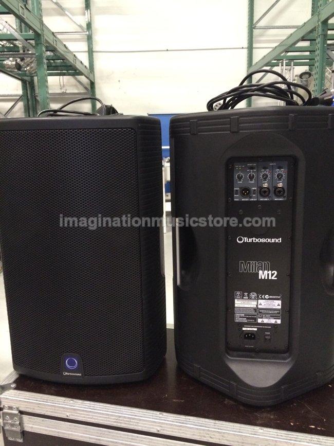 imagination music store speaker aktif turbosound milan. Black Bedroom Furniture Sets. Home Design Ideas