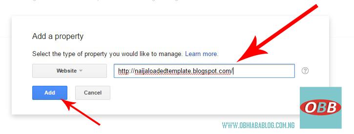 Verify Blog On Google