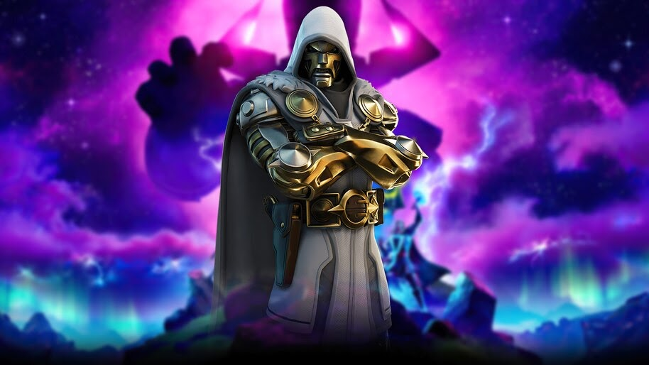 Fortnite, Doctor Doom, God Emperor, Marvel, 4K, #7.2558