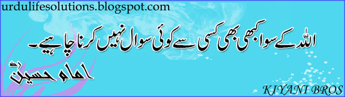 Maula Ali Shrine Wallpaper: Islam A Way Of Life: Quote Hazrat Imam Hussain (R.A