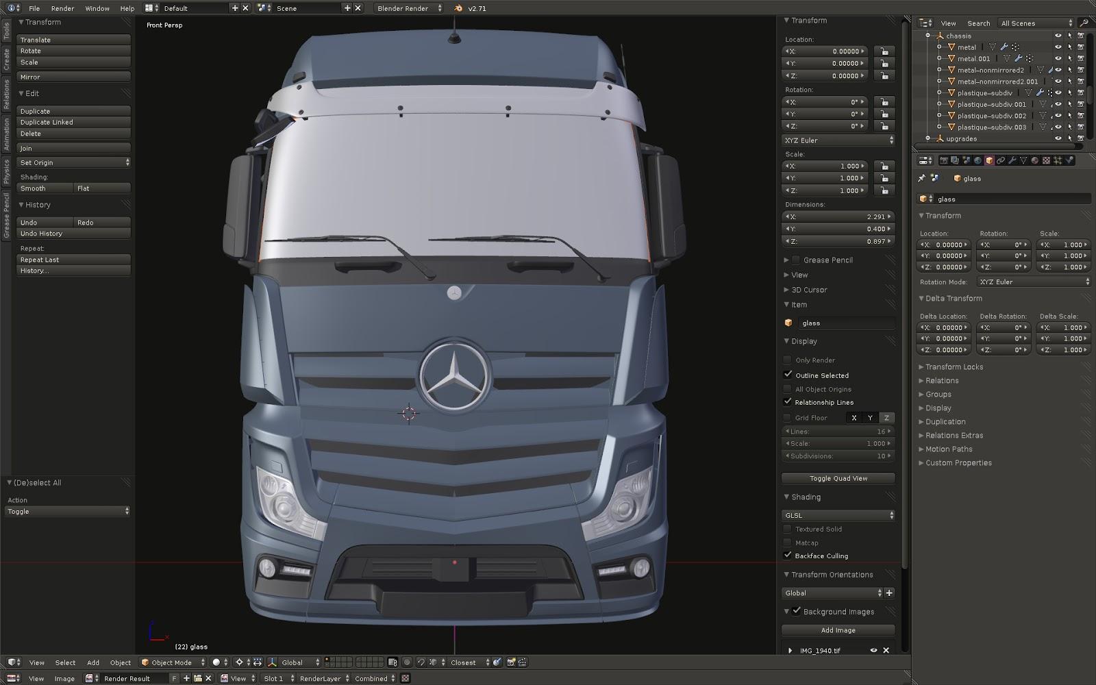 223060de1c5 SCS Software's blog: Mercedes-Benz New Actros work in progress