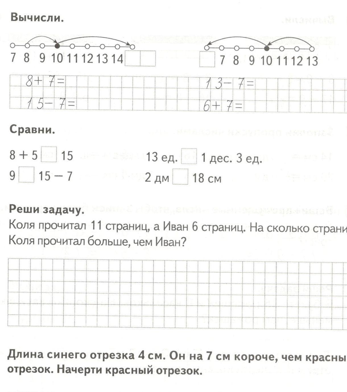 ВТОРОКЛАШКА Б МАТЕМАТИКА Для решения задач вида на больше на меньше на сколько нам нужно выучить три правила i > ii на Р разница i 7 Б большее число