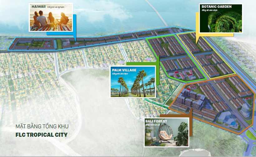 Quy hoạch dự án Flc Tropical City Hà Khánh