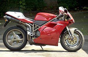 Ducati 916 SPS - Antiga sim!!! Colecionável? Talvez!