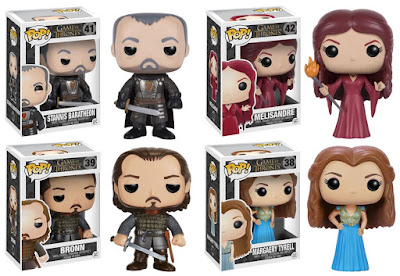 Game of Thrones Pop! Series 6 by Funko - Stannis Baratheon, Melisandre, Bronn, Margaery Tyrell