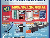 Lowe's Flyer Saving Card valid 15 June - 21, 2017