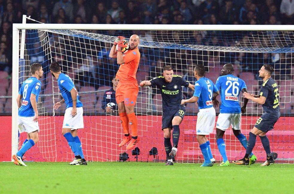 Risultati Serie A: l'anticipo Napoli-Inter è terminato con il risutlato di 0-0