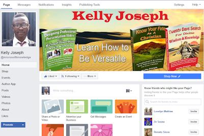 Kelly Joseph's author page