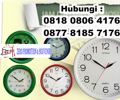 Pusat Produksi Jam dinding Promosi, Bikin jam dinding promo, Order Jam dinding Promosi, Jam dinding Souvenir