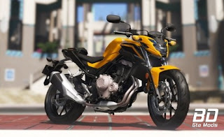 Download mod moto Honda CB500F 2018 para GTA 5 PC