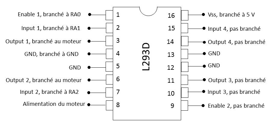 u00c9lectronique en amateur  contr u00f4le d u0026 39 un moteur  u00e0 courant