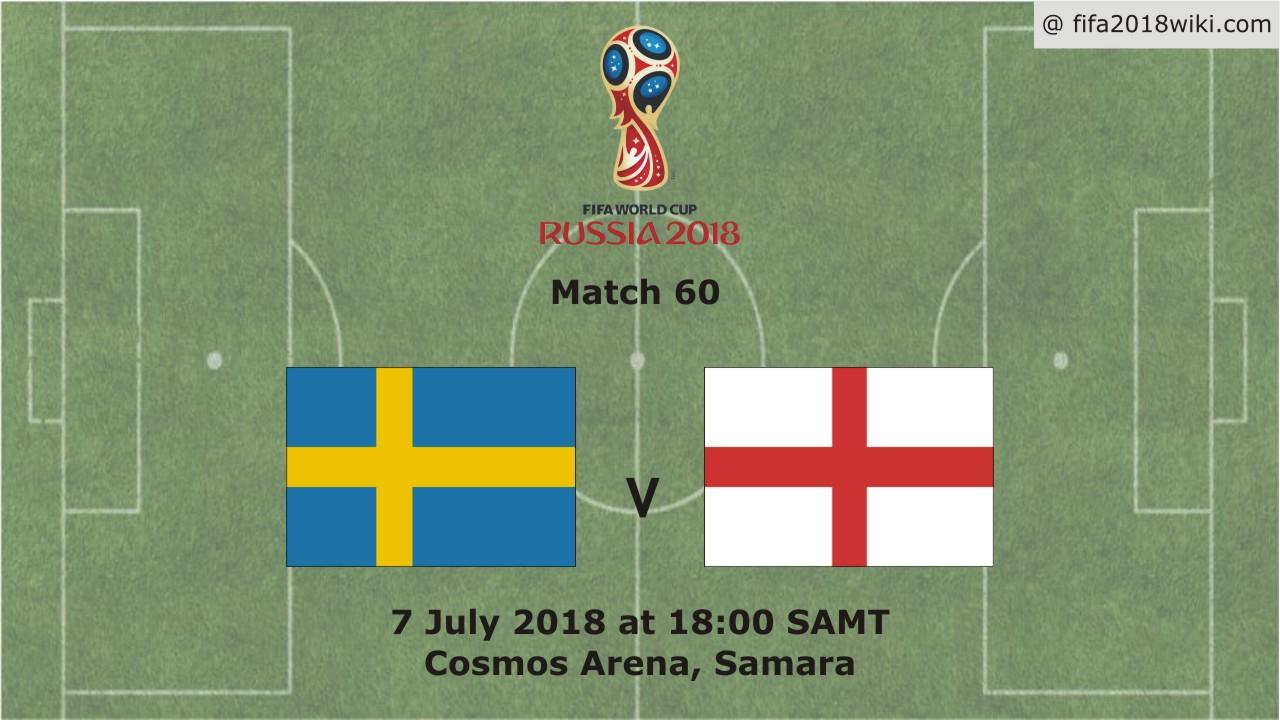 تأهل تاريخى للانجليز على حساب السويد الى نصف  نهائى كأس العالم 2018 Sweden vs England