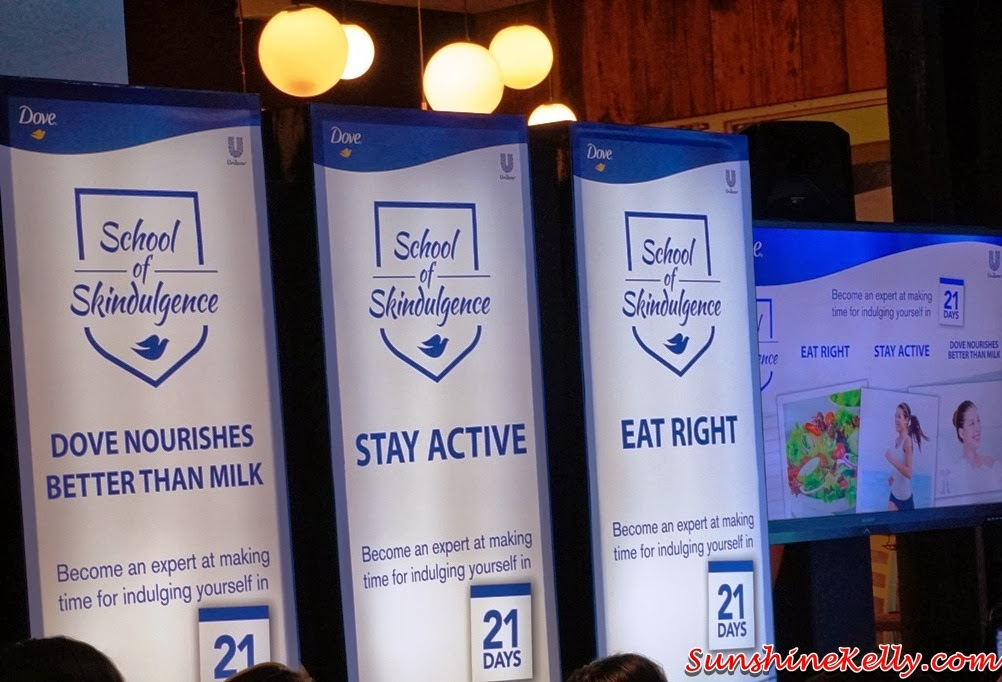 Dove School of Skindulgence, school of skindulgence, Eat Right, Stay Active, better Than Milk, dove, dove body wash, dove skindulgence, 21 days challenge