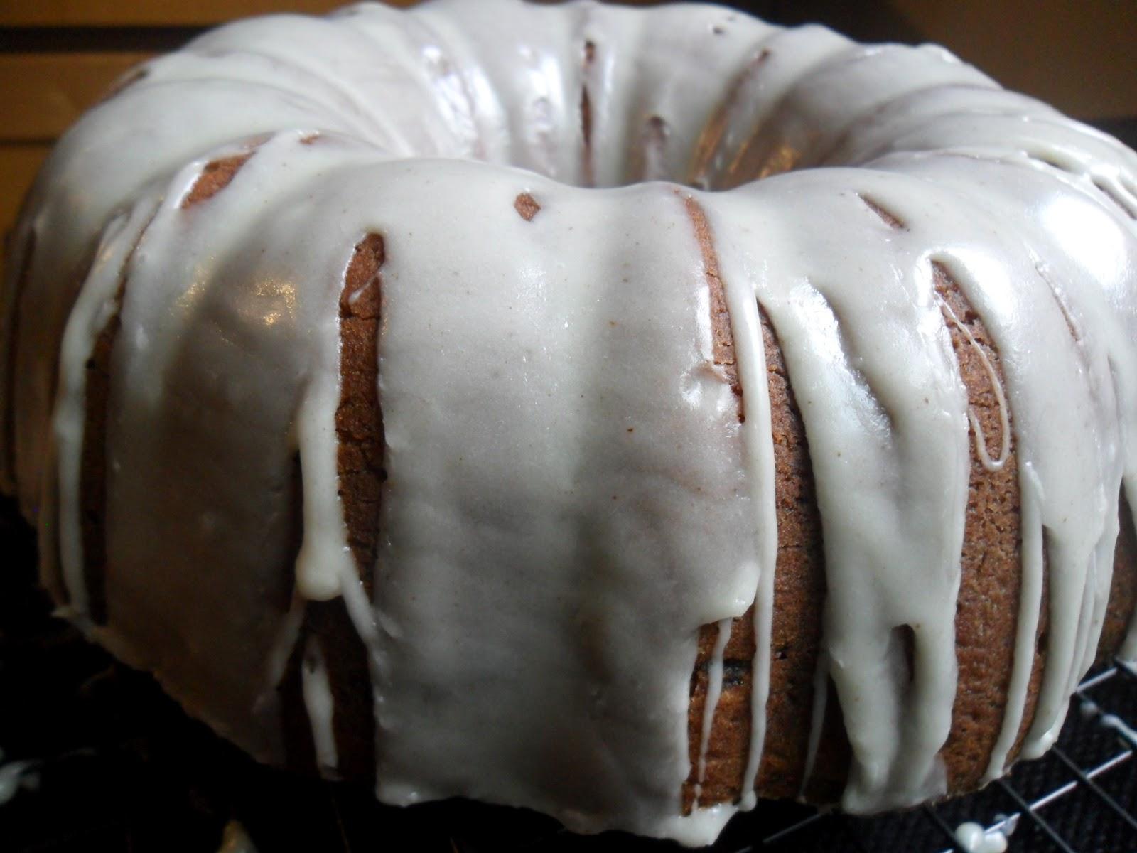 Banana Bundt Cake with Maple Rum Glaze | Turnips 2 Tangerines