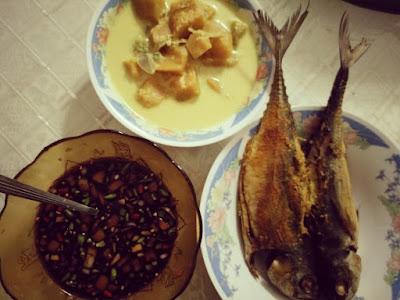 Resepi ikan cencaru sumbat kelapa paling simple