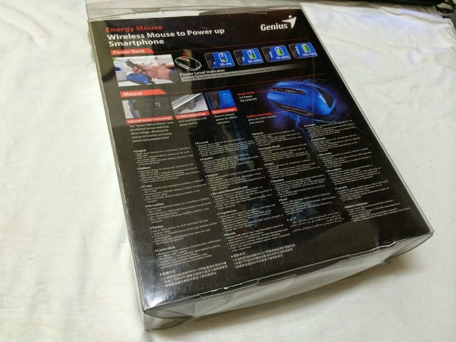 Unboxing & Review: Genius Energy Mouse 25