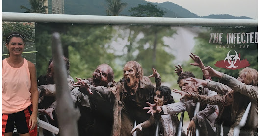 The Infected Zombie Run 5K in Discovery Bay Recap