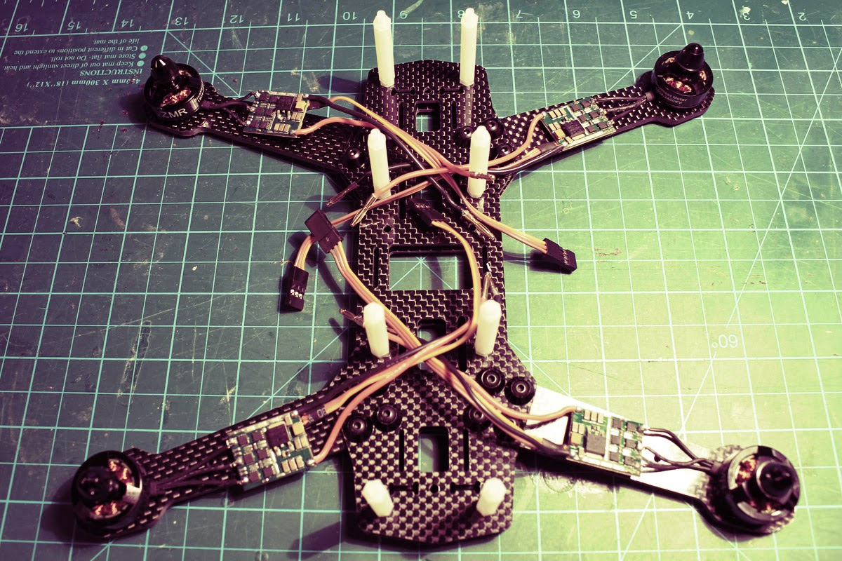 How to build FPV racing quad electronics