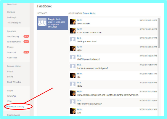 How To View Friends Facebook Messages