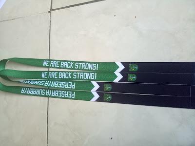 Tali lanyard digital printing persebaya surabaya
