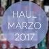 Haul Marzo 2017
