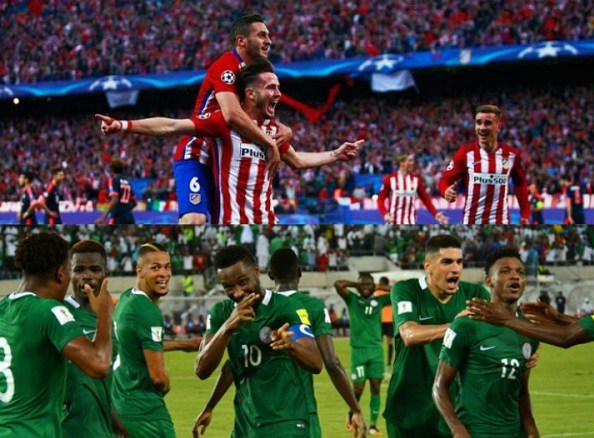 atletico madrid coach diego simeone is expected to arrive nigeria on monday for the first time. Black Bedroom Furniture Sets. Home Design Ideas