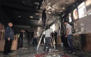 5 individus interpellés après l'incendie de la mosquée d'Ajaccio.