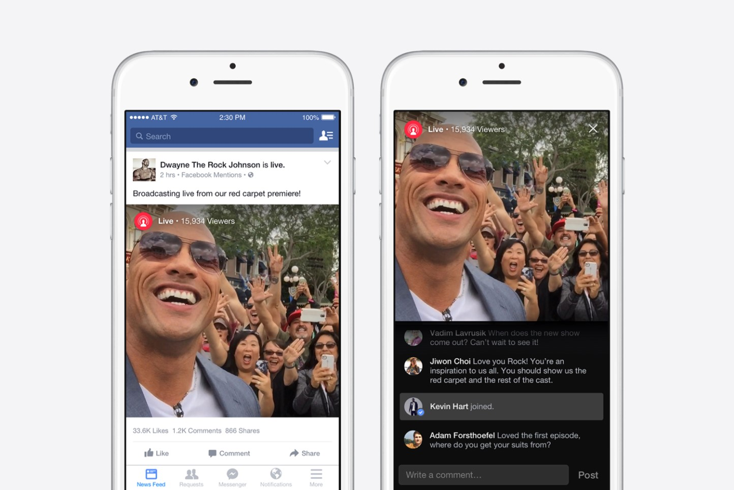Marketing Matters: Facebook launches VIP live-streaming