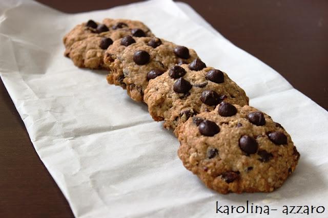 Cookies (kokos, hrozienka, čokoláda, brusnice)
